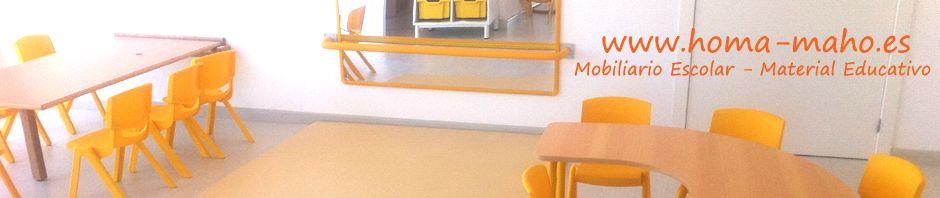 Equipamiento para Guarderias - Mobiliario Escolar